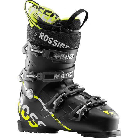Rossignol Speed 100 Alpin Skischuh black-yellow NEU - Bild 1