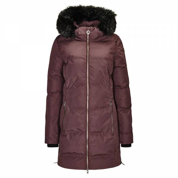 Killtec Callena Damen Freizeitmantel Wintermantel Winter Jacket Parka pflaume NEU