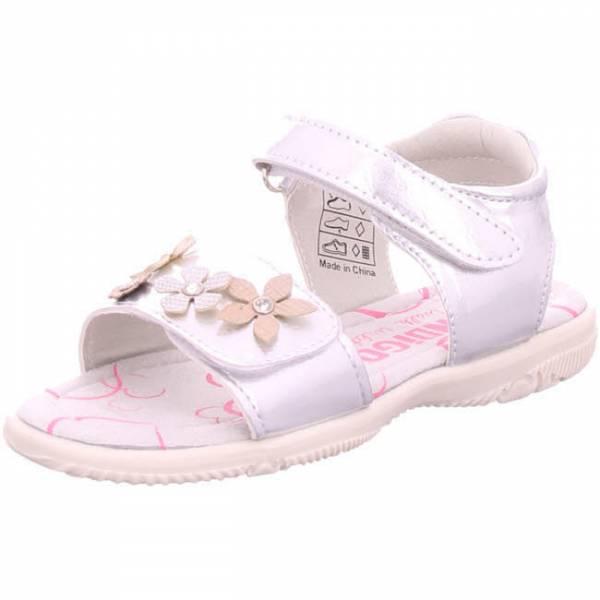 Indigo Sandale Mädchen Sandaletten Klettverschluss modisch Freizeit silber NEU