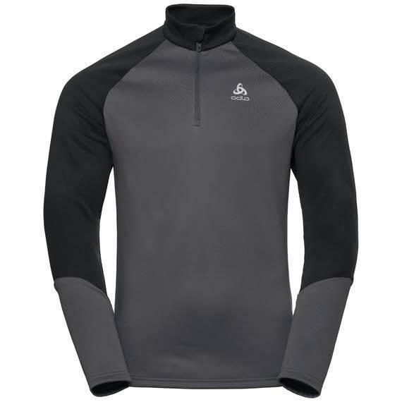 Odlo Planches Midlayer ½  Zip Herren Longsleeve Wintersport graphite grey NEU - Bild 1