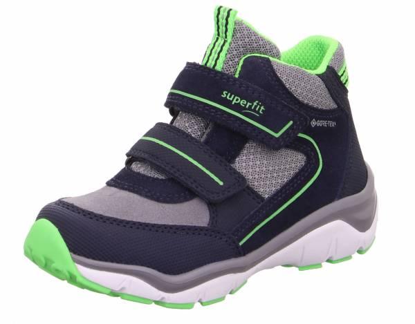 Superfit Sport5 Jungen Gore-Tex Halbschuh Klettverschluss Outdoor blau grün NEU - Bild 1