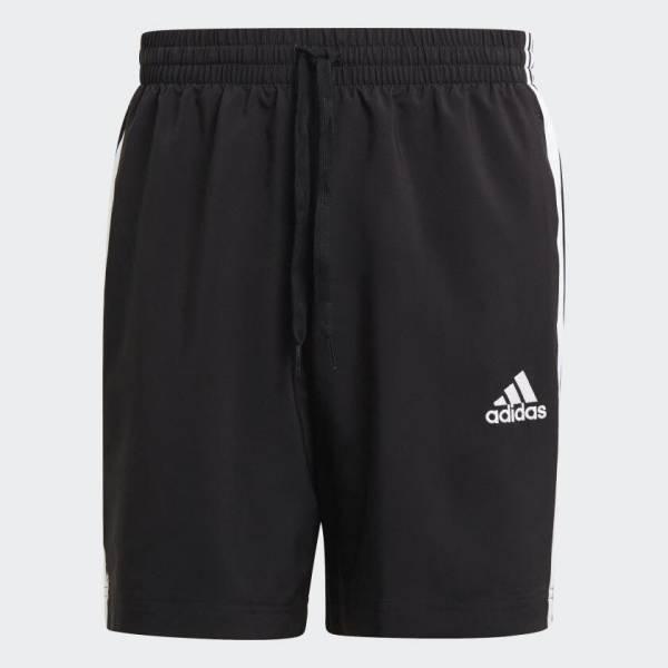 adidas Essentials Chelsea 3-Streifen Shorts Freizeit Herren schwarz NEU - Bild 1