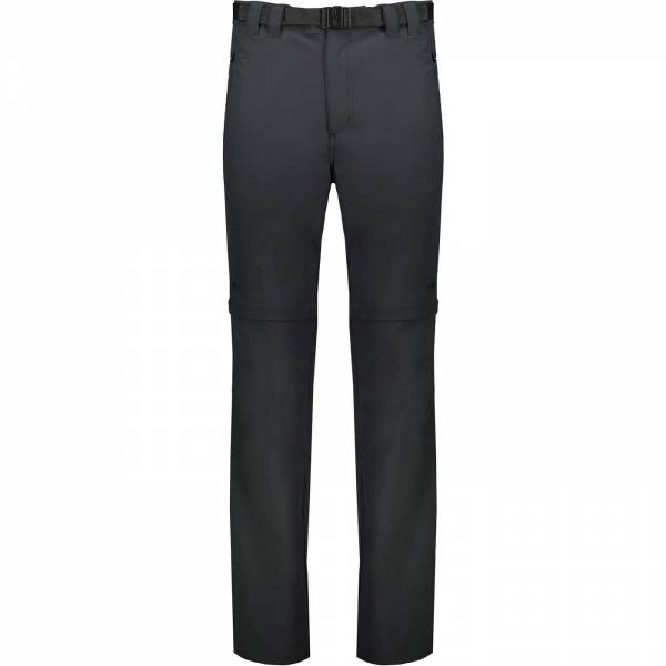 CMP Man Shorts Long Pant Zip Off Outdoorhose Wanderhose Freizeit antracite NEU