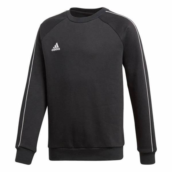 adidas JU Core18 SW TOP Y Jungen Sweatshirt Trainings Pullover schwarz NEU - Bild 1