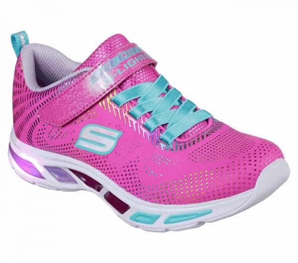 Skechers S Lights Litebeams Gleam N´ Dream Kinder Freizeitschuh Sneaker pink NEU