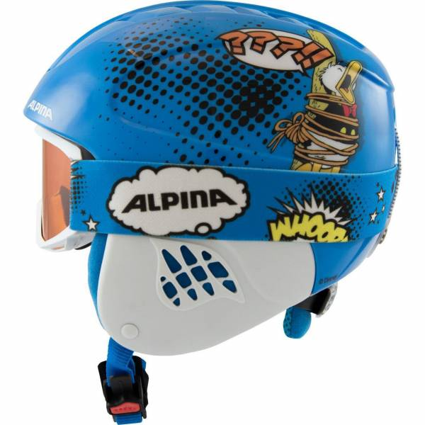 Alpina Carat Set mit Brille Disney Donald Duck Skihelm NEU - Bild 1