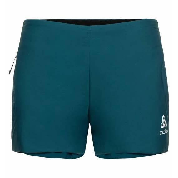 Odlo Millennium S-Thermic Shorts Damen Wintersport Laufshort Training grün NEU