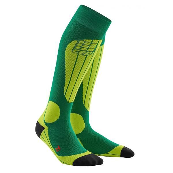 CEP Ski Thermo Socks Herren Sportsocken Skisocken Wintersocken Outdoor green NEU