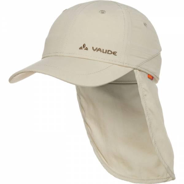 Vaude Kids Sahara Cap III Kinder Sonnenhut Nackenschutz Kappe offwhite NEU
