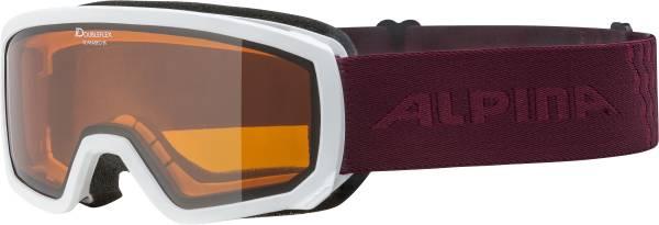 Alpina Scarabeo Jr. Kinder Skibrille Snowboardbrille Wintersport Alpin white NEU