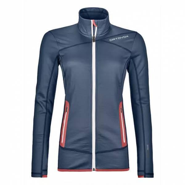ORTOVOX Fleece Jacket Damen Funktionsjacke Midlayer Outdoor Freizeit blau NEU