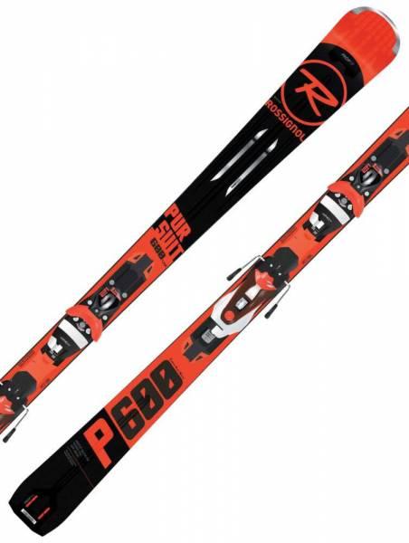 Rossignol Pursuit 600 18/19 Allround OnPiste SportCarver Rocker Alpin Skiset NEU