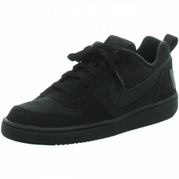 NIKE Court Borough Low Jungen Sneaker Turnschuhe Outdoor Freizeit schwarz NEU - Bild 1