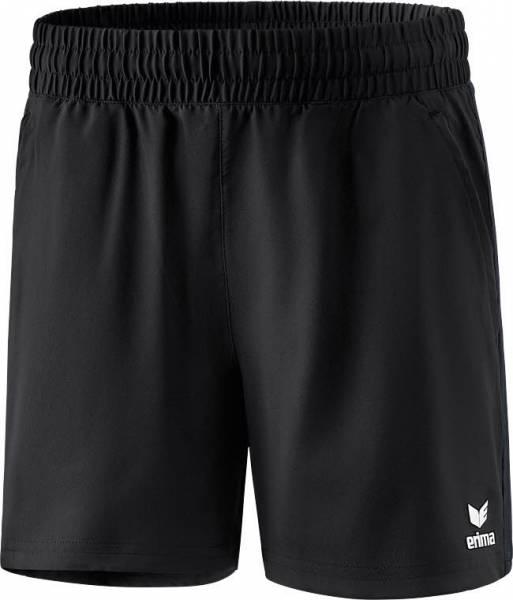 erima Premium One 2.0 Damen Short Polyester Sporthose Fitness schwarz NEU - Bild 1