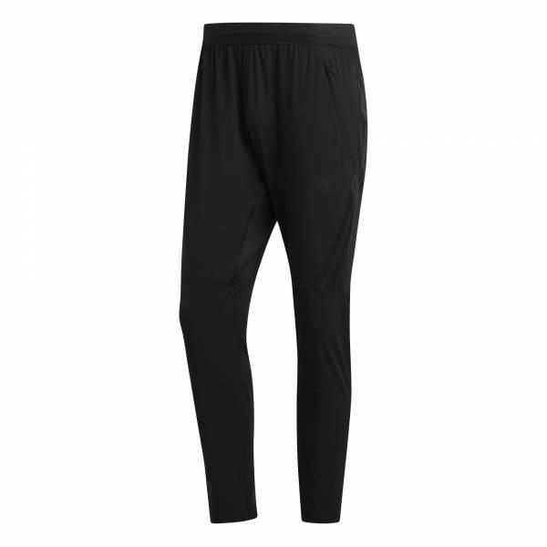 adidas AEROREADY 3-Streifen Hose Herren Trainingshose Freizeit black NEU - Bild 1