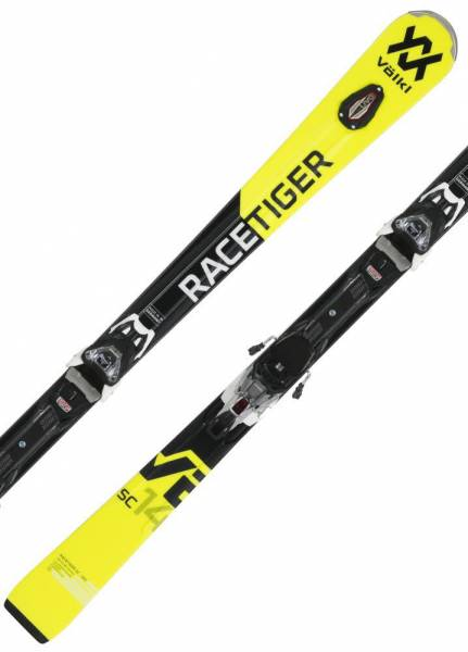 Völkl Racetiger SC Yellow 18/19 Allround Slalom Sport Carver Alpin Skiset NEU - Bild 1