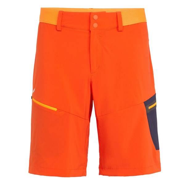 Salewa Pedroc Cargo 2 Dynastretch Shorts Herren Wanderhose Freizeit orange NEU - Bild 1