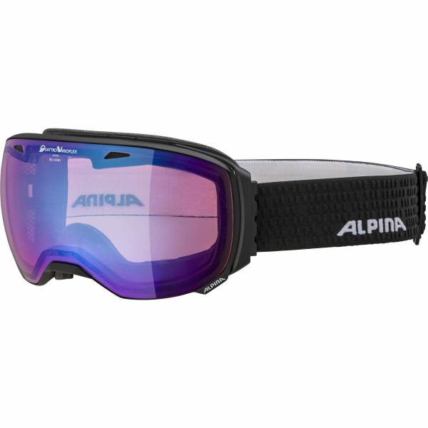 Alpina Big Horn QVM blue sph. Unisex Skibrille Wintersportbrille black matt NEU - Bild 1