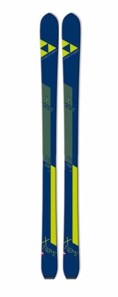 Fischer X-Treme 82 Herren Tourenski ohne Bindung Touringski 1 Paar blau/gelb NEU