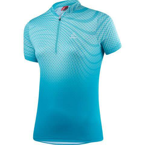 Löffler Bike Shirt Java HZ Damen Radfahren Trikot kurzarm Funktion blau NEU - Bild 1