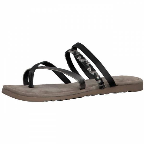 Marco Tozzi Flip Flop Damen Sommerschuhe Sandalette modisch schwarz NEU