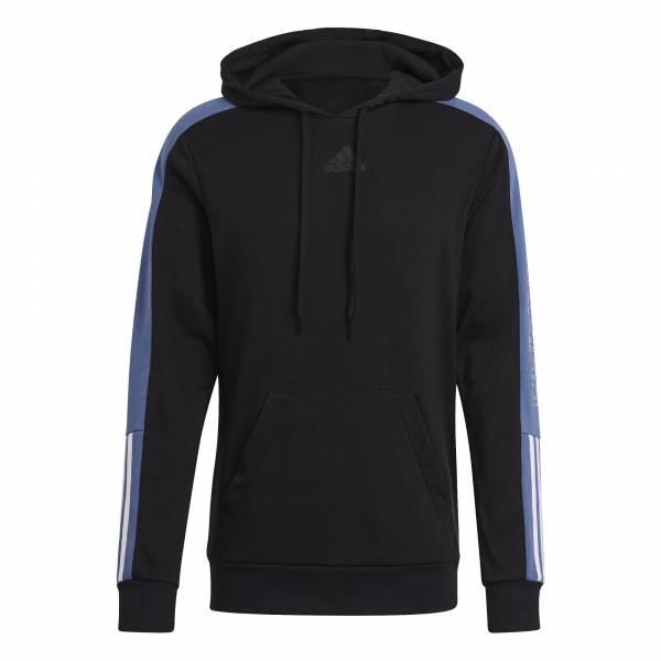 Adidas HD Black Hoodie sportlich Outdoor Herren schwarz NEU - Bild 1