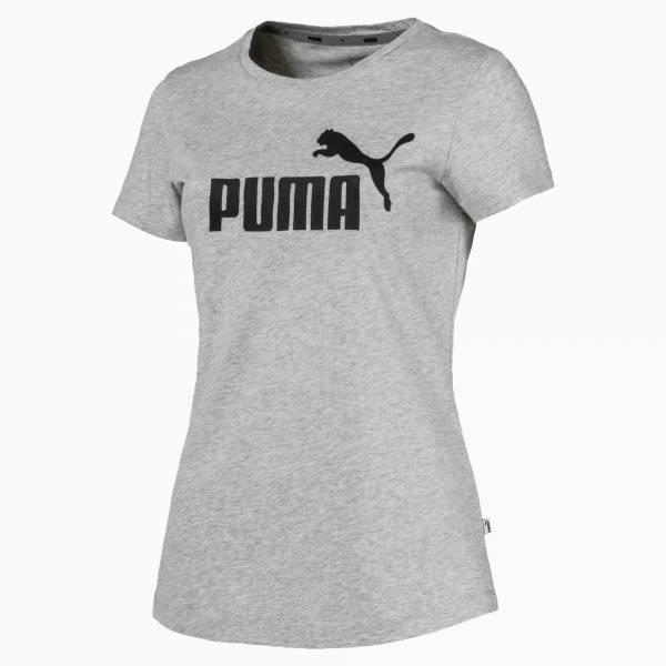 Puma Essentials T-Shirt Freizeit Sport Fitness Damen grau NEU - Bild 1