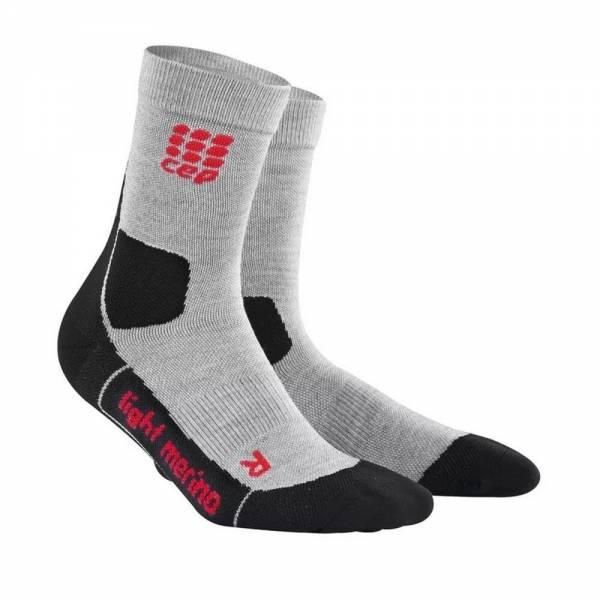 CEP Hiking Light Merino Mid Cut Socks Herren Sportsocken Laufsocken grey NEU