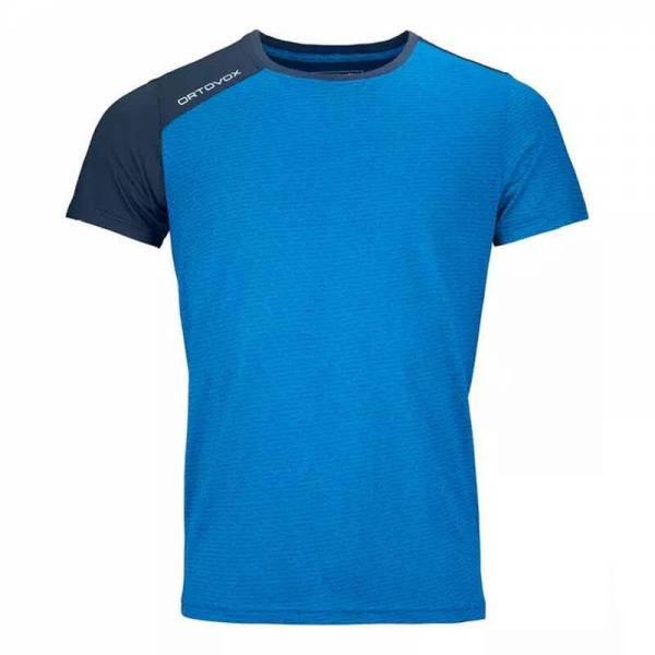 Ortovox 120 Tec T-Shirt Herren Freizeitshirt Training Outdoor Fitness blue NEU