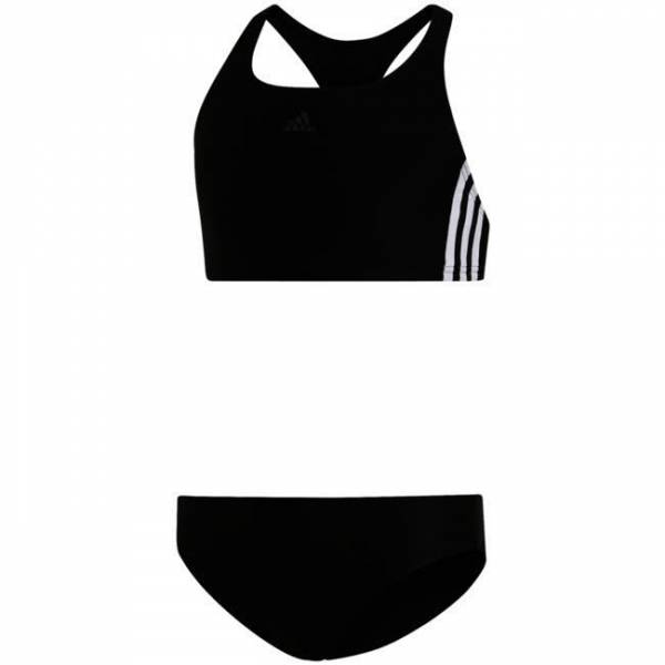 Adidas FIT 2PC 3S 3-Streifen Bikini Mädchen black NEU