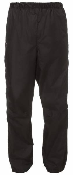 Vaude Herren Fluid Full Zip Pants II Regenhose Wanderhose Outdoorhose Freizeithose black NEU - Bild 1