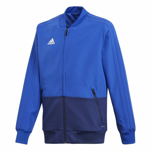 adidas Condivo 18 Präsentationsjacke Kinder Fussball Freizeit Sport blue NEU - Bild 1