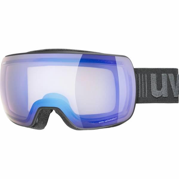 Uvex Compact V Herren Skibrille Snowboardbrille Wintersport Goggle black mat NEU