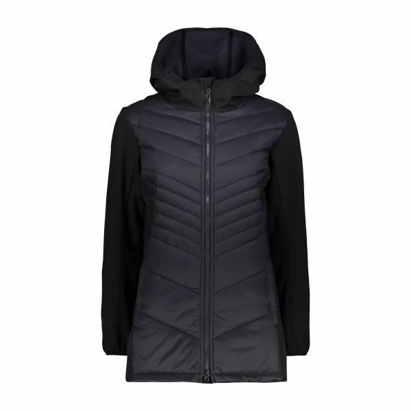 Campagnolo Coat Fix Hood Damen CMP Softshell Mantel Outdoor Freizeit schwarz NEU