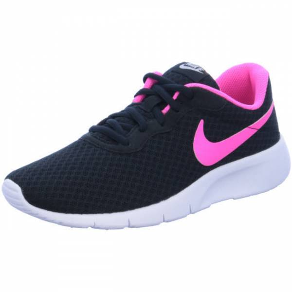 NIKE Tanjun Mädchen Sneaker Turnschuhe Running Halle Outdoor Freizeit schwarz pink NEU - Bild 1