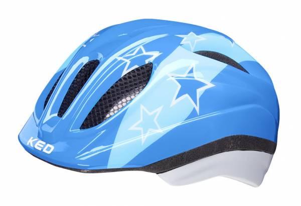 KED Meggy Two Kinder Fahrradhelm Radsport Outdoor Jungen blau NEU