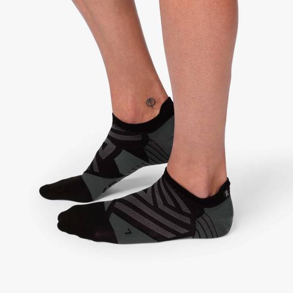 ON Low Sock Herren Laufsocken Running black | shadow NEU - Bild 1