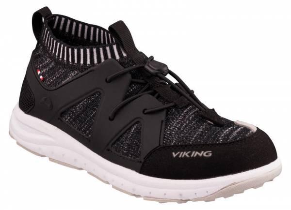 Viking Brobekk mit Gummizug Sneaker Kinder schwarz NEU