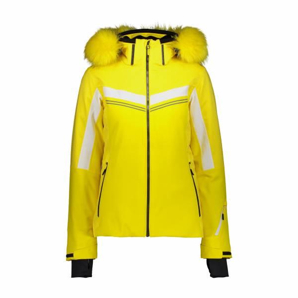 CMP DA Woman Jacket ZIP Hood Damen Skijacke Winterjacke yellow NEU - Bild 1