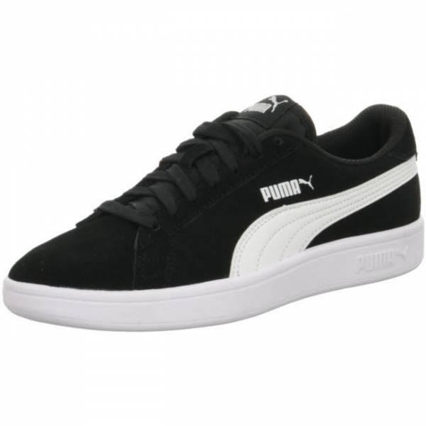 Puma Smash v2 SD Jungen Sneaker Freizeitschuh Kinder Turnschuhe schwarz weiß NEU - Bild 1