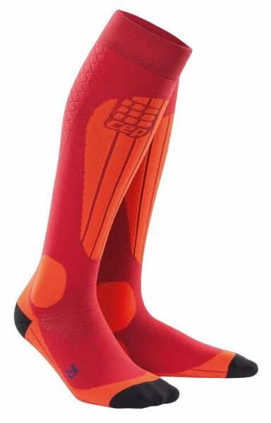 cep Ski Thermo Socks Damen Skisocken Kompression Funktion pink orange NEU
