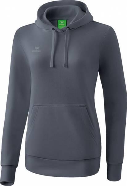 Erima Kapuzensweat Pullover Freizeit sportlich modisch Damen grau NEU - Bild 1