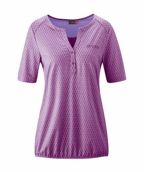 Maier Sports Doora 2.0 Jersey-Bluse Outdoor Wandern sportlich Damen lila NEU