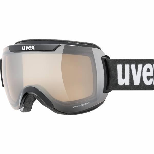 Uvex Downhill 2000 V Skibrille Snowboardbrille Wintersport Goggle black NEU