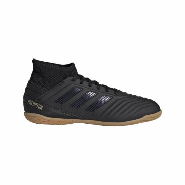 adidas Predator 19.3 IN J Kinder Fußballschuhe Hallenschuhe schwarz NEU - Bild 1