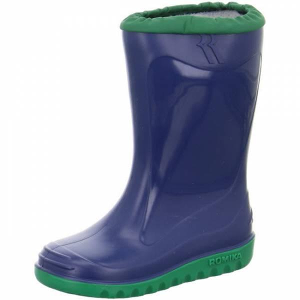 ROMIKA Gummistiefel Jungen Regenstiefel Freizeit blau-minze NEU - Bild 1
