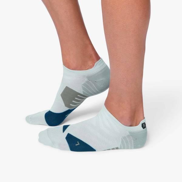 ON Low Sock Herren Laufsocken Running grey | denim NEU - Bild 1