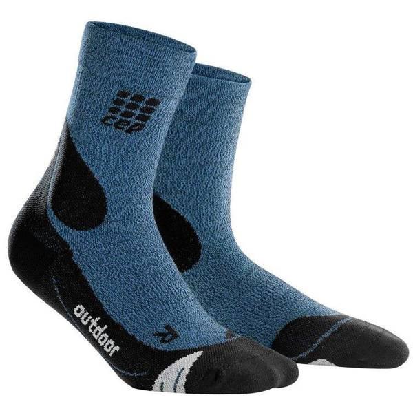CEP Mid-Cut Socks Damen Trekkingsocken Wintersport Socken desert sky/black NEU