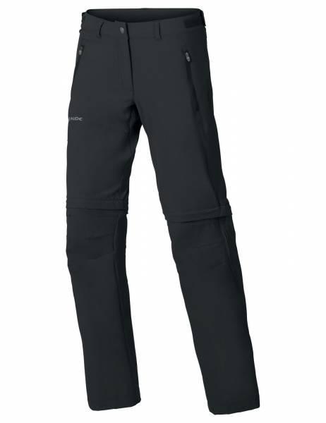 Vaude Damen Farley Stretch ZO T-Zip Pant Trekkinghose Wanderhose Outdoorhose black NEU - Bild 1