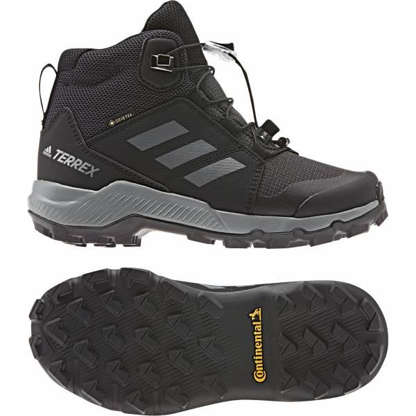 adidas Terrex MID GTX Jungen Trekkingschuhe Outdoor Freizeit black NEU - Bild 1